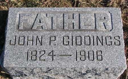 GIDDINGS, JOHN P. - Cuming County, Nebraska   JOHN P. GIDDINGS - Nebraska Gravestone Photos