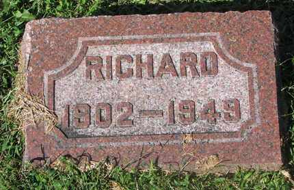 GIESE, RICHARD - Cuming County, Nebraska | RICHARD GIESE - Nebraska Gravestone Photos