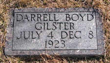 GILSTER, DARRELL BOYD - Cuming County, Nebraska | DARRELL BOYD GILSTER - Nebraska Gravestone Photos