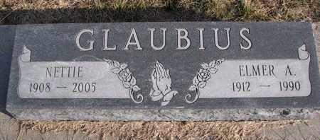 GLAUBIUS, ELMER A. - Cuming County, Nebraska | ELMER A. GLAUBIUS - Nebraska Gravestone Photos