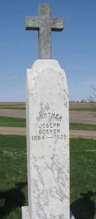 GOEKEN, JOSEPH - Cuming County, Nebraska | JOSEPH GOEKEN - Nebraska Gravestone Photos