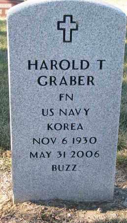GRABER, HAROLD T. - Cuming County, Nebraska | HAROLD T. GRABER - Nebraska Gravestone Photos
