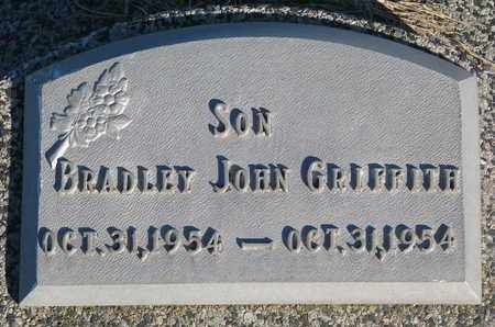 GRIFFITH, BRADLEY JOHN - Cuming County, Nebraska | BRADLEY JOHN GRIFFITH - Nebraska Gravestone Photos
