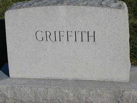 GRIFFITH, (FAMILY MONUMENT) - Cuming County, Nebraska | (FAMILY MONUMENT) GRIFFITH - Nebraska Gravestone Photos