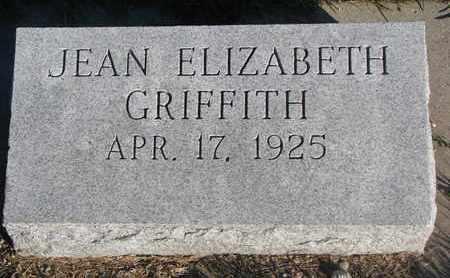 GRIFFITH, JEAN ELIZABETH - Cuming County, Nebraska | JEAN ELIZABETH GRIFFITH - Nebraska Gravestone Photos