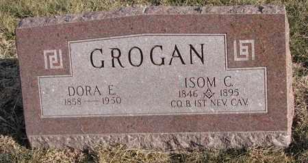 GROGAN, ISOM C. - Cuming County, Nebraska | ISOM C. GROGAN - Nebraska Gravestone Photos
