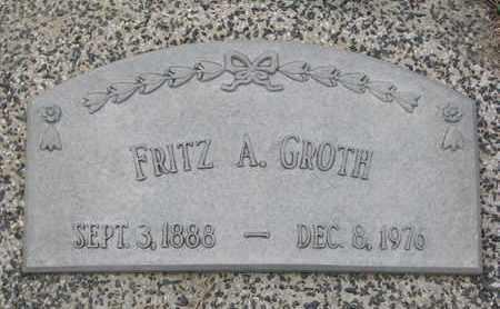 GROTH, FRITZ A. - Cuming County, Nebraska | FRITZ A. GROTH - Nebraska Gravestone Photos