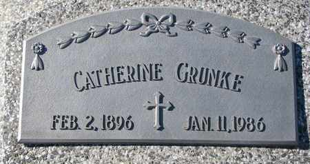 GRUNKE, CATHERINE - Cuming County, Nebraska | CATHERINE GRUNKE - Nebraska Gravestone Photos