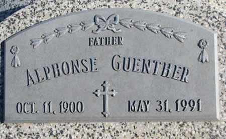 GUENTHER, ALPHONSE - Cuming County, Nebraska | ALPHONSE GUENTHER - Nebraska Gravestone Photos