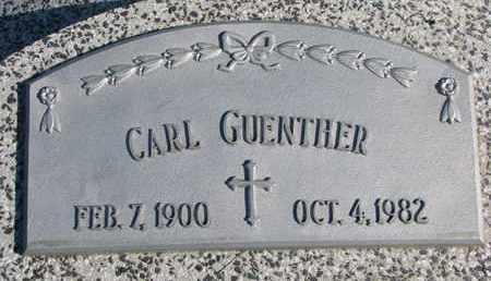 GUENTHER, CARL - Cuming County, Nebraska | CARL GUENTHER - Nebraska Gravestone Photos