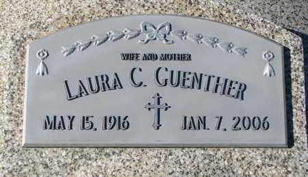 GUENTHER, LAURA C. - Cuming County, Nebraska | LAURA C. GUENTHER - Nebraska Gravestone Photos
