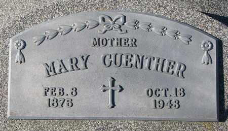 GUENTHER, MARY - Cuming County, Nebraska | MARY GUENTHER - Nebraska Gravestone Photos