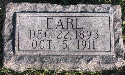 HAHLBECK, EARL - Cuming County, Nebraska   EARL HAHLBECK - Nebraska Gravestone Photos