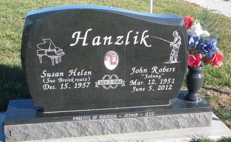 HANZLIK, SUSAN HELEN - Cuming County, Nebraska | SUSAN HELEN HANZLIK - Nebraska Gravestone Photos