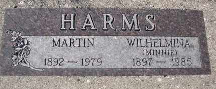 HARMS, WILHELMINA - Cuming County, Nebraska | WILHELMINA HARMS - Nebraska Gravestone Photos