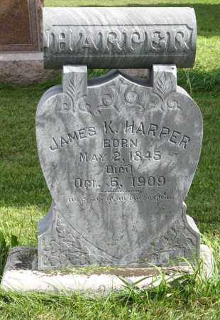 HARPER, JAMES K. - Cuming County, Nebraska | JAMES K. HARPER - Nebraska Gravestone Photos