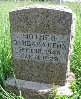 HEHN, BARBARA - Cuming County, Nebraska | BARBARA HEHN - Nebraska Gravestone Photos