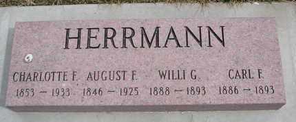 HERRMANN, WILLI G. - Cuming County, Nebraska | WILLI G. HERRMANN - Nebraska Gravestone Photos