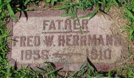 HERRMANN, FRED W. - Cuming County, Nebraska | FRED W. HERRMANN - Nebraska Gravestone Photos