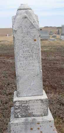 HILL, HARRY A. - Cuming County, Nebraska | HARRY A. HILL - Nebraska Gravestone Photos