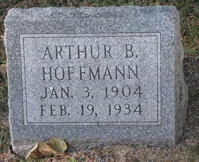 HOFFMANN, ARTHUR B. - Cuming County, Nebraska | ARTHUR B. HOFFMANN - Nebraska Gravestone Photos