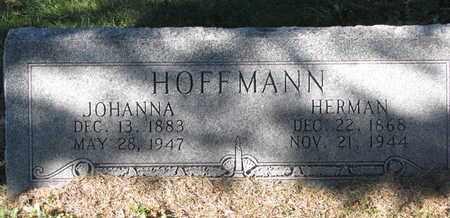 HOFFMANN, JOHANNA - Cuming County, Nebraska | JOHANNA HOFFMANN - Nebraska Gravestone Photos
