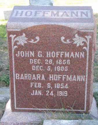 HOFFMANN, BARBARA - Cuming County, Nebraska | BARBARA HOFFMANN - Nebraska Gravestone Photos
