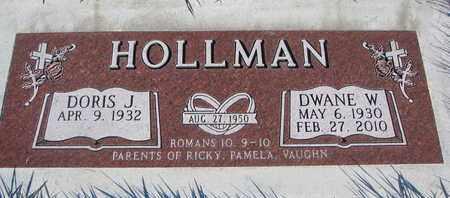HOLLMAN, DORIS J. - Cuming County, Nebraska | DORIS J. HOLLMAN - Nebraska Gravestone Photos