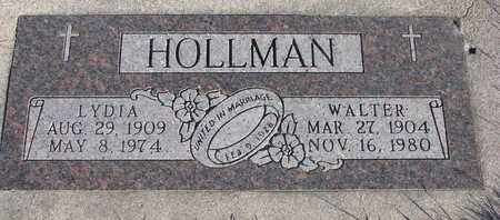 HOLLMAN, WALTER - Cuming County, Nebraska | WALTER HOLLMAN - Nebraska Gravestone Photos