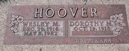HOOVER, DOROTHY M. - Cuming County, Nebraska | DOROTHY M. HOOVER - Nebraska Gravestone Photos