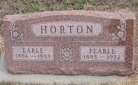 HORTON, PEARLE - Cuming County, Nebraska   PEARLE HORTON - Nebraska Gravestone Photos
