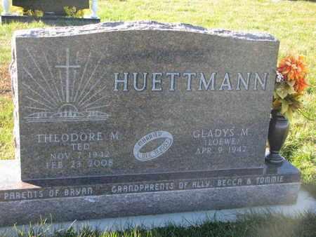 HUETTMANN, THEODORE M. - Cuming County, Nebraska | THEODORE M. HUETTMANN - Nebraska Gravestone Photos