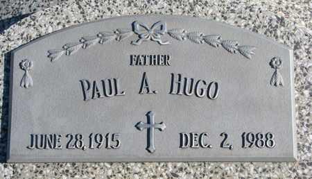 HUGO, PAUL A. - Cuming County, Nebraska | PAUL A. HUGO - Nebraska Gravestone Photos