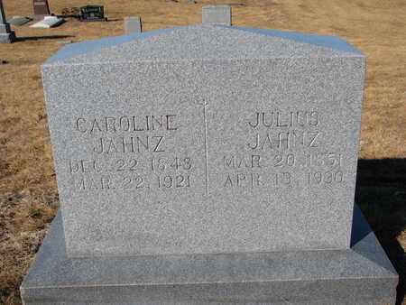 JAHNZ, JULIUS - Cuming County, Nebraska | JULIUS JAHNZ - Nebraska Gravestone Photos