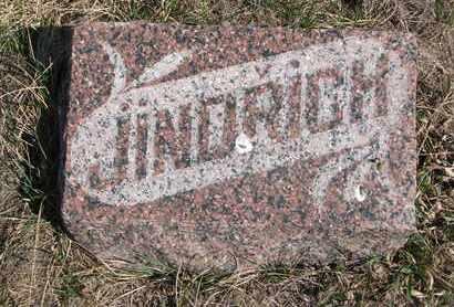 JINDRICH, UNKNOWN - Cuming County, Nebraska | UNKNOWN JINDRICH - Nebraska Gravestone Photos