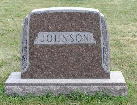 JOHNSON, (FAMILY MONUMENT) - Cuming County, Nebraska | (FAMILY MONUMENT) JOHNSON - Nebraska Gravestone Photos