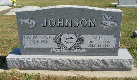 JOHNSON, ALLEN C. - Cuming County, Nebraska   ALLEN C. JOHNSON - Nebraska Gravestone Photos