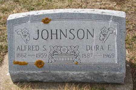 JOHNSON, ALFRED S. - Cuming County, Nebraska | ALFRED S. JOHNSON - Nebraska Gravestone Photos