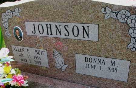 "JOHNSON, ALLEN F. ""BUD"" - Cuming County, Nebraska | ALLEN F. ""BUD"" JOHNSON - Nebraska Gravestone Photos"