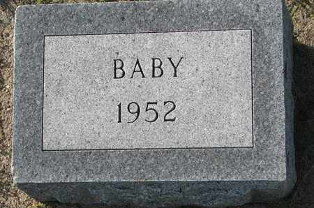 JOHNSON, BABY - Cuming County, Nebraska | BABY JOHNSON - Nebraska Gravestone Photos
