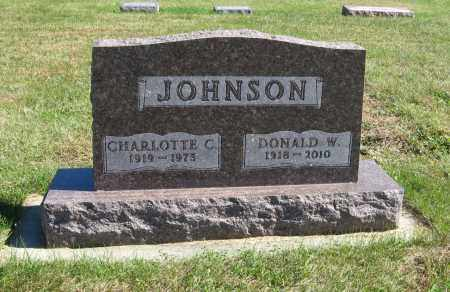JOHNSON, DONALD W. - Cuming County, Nebraska | DONALD W. JOHNSON - Nebraska Gravestone Photos
