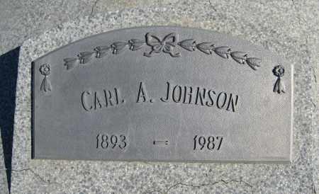 JOHNSON, CARL A. (CLOSE UP) - Cuming County, Nebraska | CARL A. (CLOSE UP) JOHNSON - Nebraska Gravestone Photos