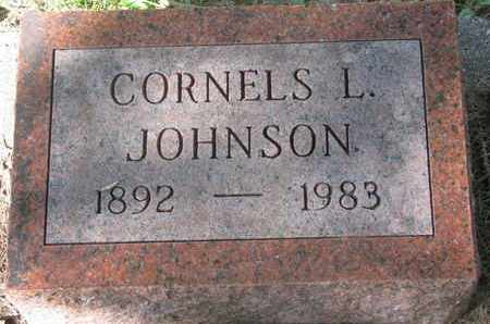 JOHNSON, CORNELS L. - Cuming County, Nebraska | CORNELS L. JOHNSON - Nebraska Gravestone Photos