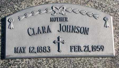 JOHNSON, CLARA - Cuming County, Nebraska   CLARA JOHNSON - Nebraska Gravestone Photos