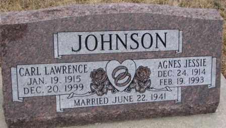 JOHNSON, CARL LAWRENCE - Cuming County, Nebraska | CARL LAWRENCE JOHNSON - Nebraska Gravestone Photos