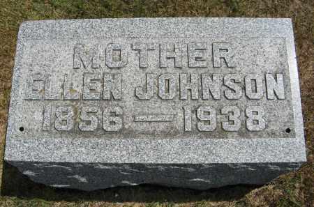 JOHNSON, ELLEN - Cuming County, Nebraska   ELLEN JOHNSON - Nebraska Gravestone Photos