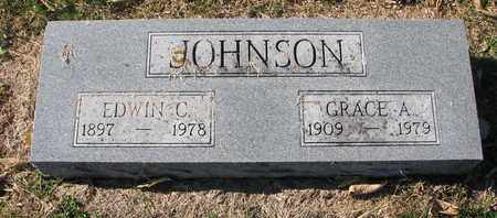 JOHNSON, GRACE A. - Cuming County, Nebraska | GRACE A. JOHNSON - Nebraska Gravestone Photos