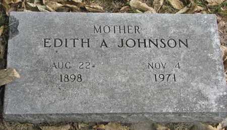 JOHNSON, EDITH A. - Cuming County, Nebraska | EDITH A. JOHNSON - Nebraska Gravestone Photos
