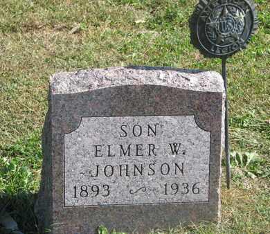 JOHNSON, ELMER W. - Cuming County, Nebraska   ELMER W. JOHNSON - Nebraska Gravestone Photos