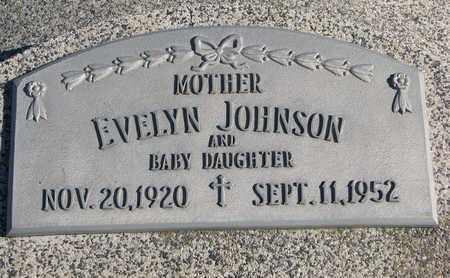 JOHNSON, BABY DAUGHTER - Cuming County, Nebraska   BABY DAUGHTER JOHNSON - Nebraska Gravestone Photos